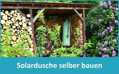 Anleitung: Solardusche selber bauen