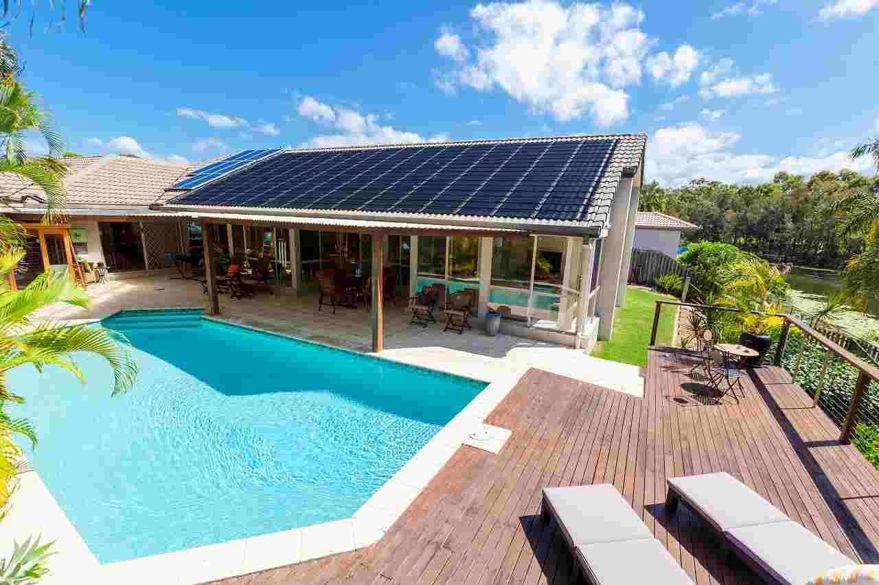 Solarfolie für Pools